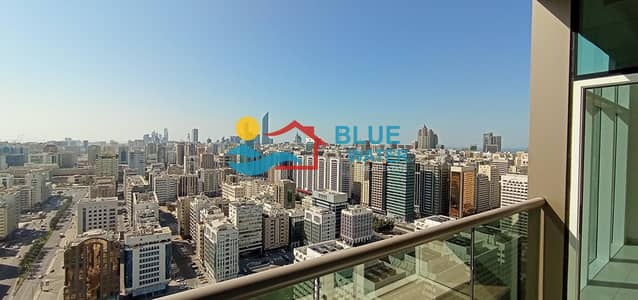 فلیٹ 3 غرف نوم للايجار في منطقة النادي السياحي، أبوظبي - Luxury Apartment with Large Size Balcony
