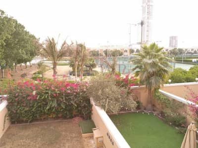 1 Bedroom Townhouse for Rent in Jumeirah Village Triangle (JVT), Dubai - Unique One Bed Plus Baby Room | On the Green Belt | Complete Serenity |