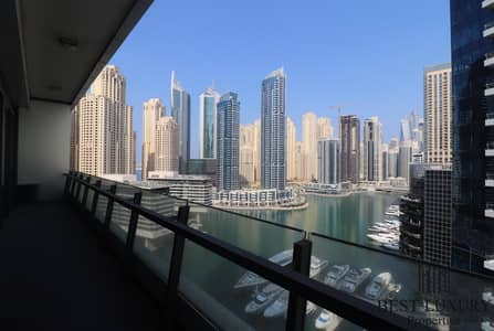 2 Bedroom Apartment for Rent in Dubai Marina, Dubai - Marina View|Great Layout|Close to Metro