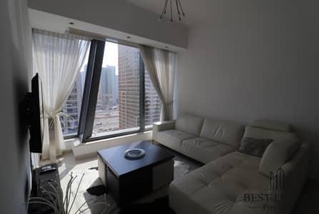 1 Bedroom Apartment for Rent in Dubai Marina, Dubai - Furnished Close to Metro City View