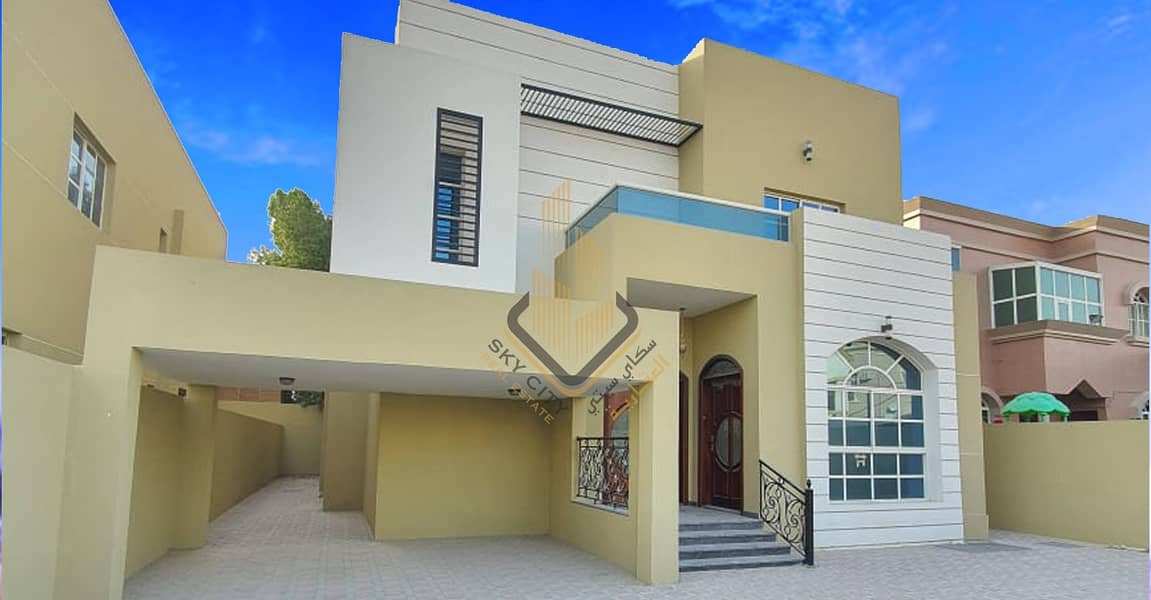 A distinctive modern design villa for sale in Ajman