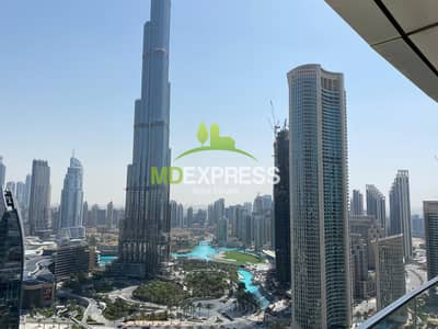 2 Bedroom Hotel Apartment for Rent in Downtown Dubai, Dubai - Sky view-II