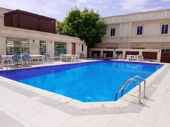 3bhk Villa | Family Compound | Swimming Pool, Gym | Aed 75 K