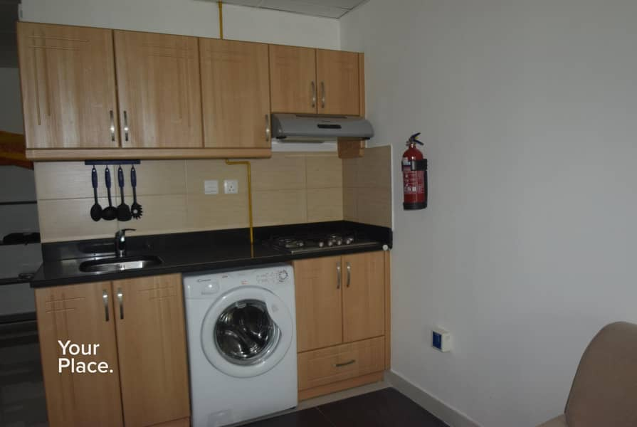 2 Furnished With Balcony - 12 Cheques