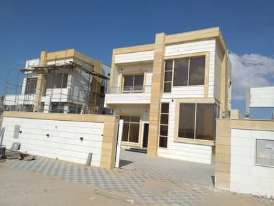4 Bedroom Villa for Sale in Al Amerah, Ajman - Modern villa for sale at an attractive price, freehold for all nationalities