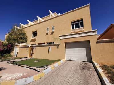 6 Bedroom Villa for Rent in Al Karamah, Abu Dhabi - Stunning 6 masters bedroom stand alone villa with garden in karama