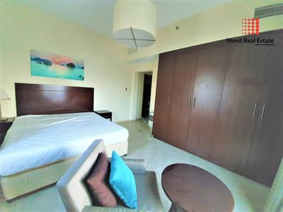 2 Bedroom Flat for Rent in Jumeirah Village Triangle (JVT), Dubai - Furnished 2 Bed| High Floor| Marina Skyline View