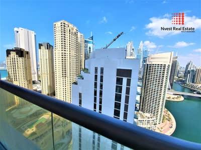 فلیٹ 1 غرفة نوم للايجار في دبي مارينا، دبي - 1 Month Free| Chiller Free| Free Maintenance