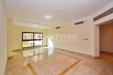 شقة 2 غرفة نوم للايجار في نخلة جميرا، دبي - 2 Bedroom in Fairmont Palm | Garden View