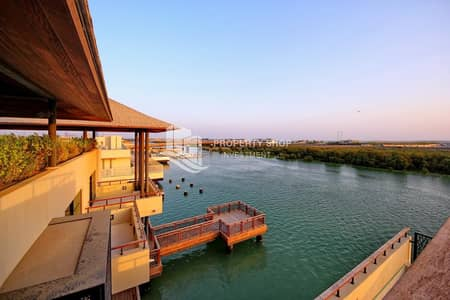 4 Bedroom Villa for Sale in Al Gurm, Abu Dhabi - Superb  Prime Waterfront Villa & Luxury Living!