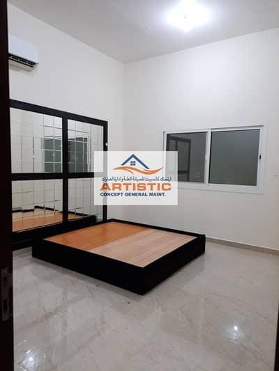 فلیٹ 4 غرف نوم للايجار في الشهامة، أبوظبي - 04 bedroom hall