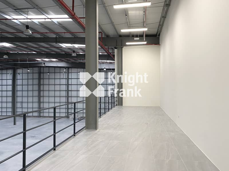2 Warehouse in Brand New Logistics Complex for Rent