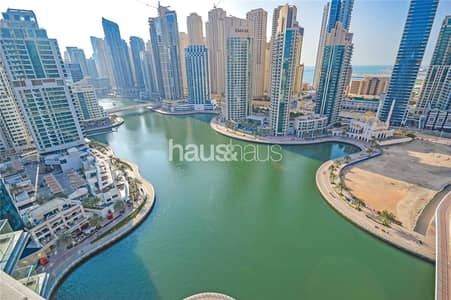 3 Bedroom Apartment for Rent in Dubai Marina, Dubai - Stunning Marina View | 2 Large Terraces | Ready