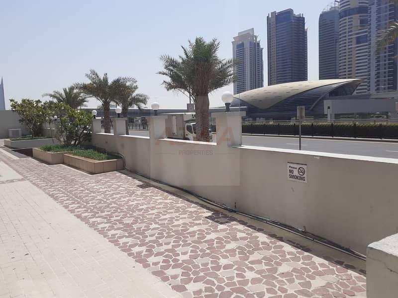 DUBAI MARINA  - Retail Shop Facing Sheikh Road Prime Location Best for Pharmacy
