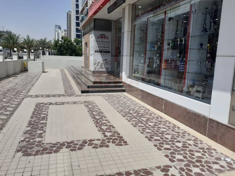 2 DUBAI MARINA  - Retail Shop Facing Sheikh Road Prime Location Best for Pharmacy