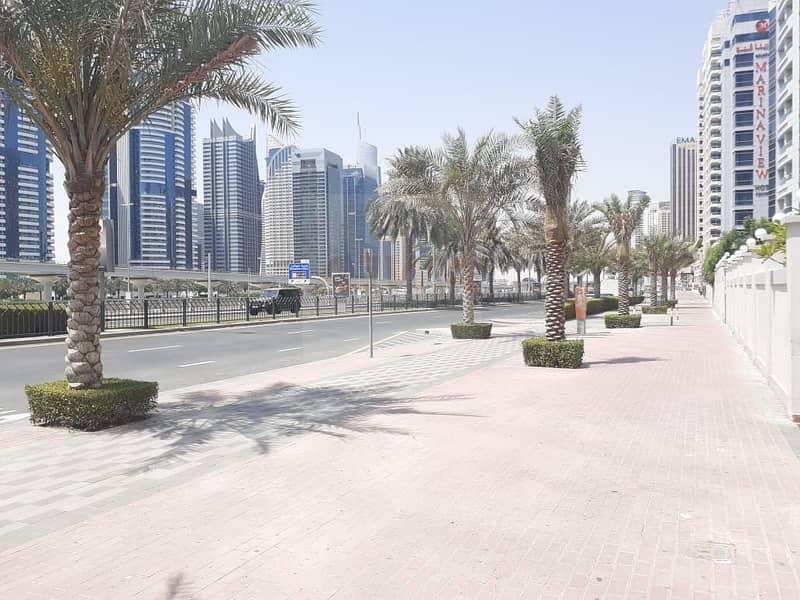 13 DUBAI MARINA  - Retail Shop Facing Sheikh Road Prime Location Best for Pharmacy