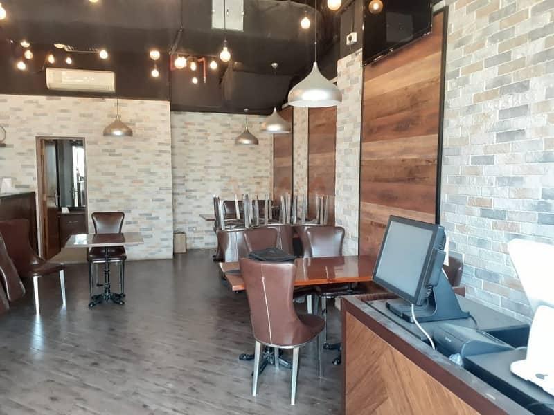 2 Restaurant for Sale  facing SZR - Dubai Marina