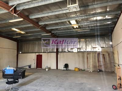 !! GOOD LOCATION COMMERCIAL WAREHOUSE WITH OFFICE IN ALQUOZ AED: 80