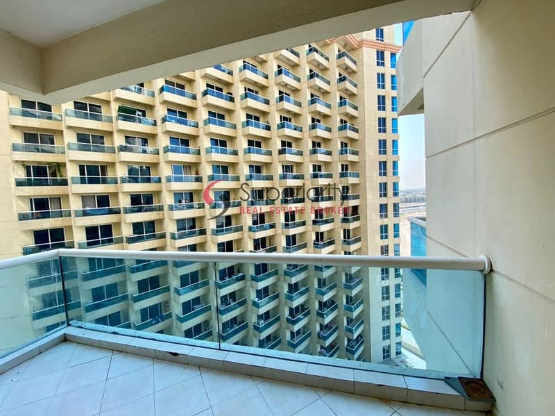 Without Parking | Spacious Studio in The Crescent Tower B
