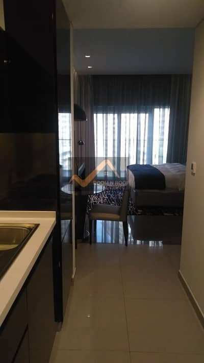 Studio for Rent in Business Bay, Dubai - Furnished studio in Majestine tower is For rent