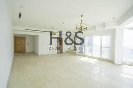فلیٹ 3 غرف نوم للبيع في دبي مارينا، دبي - Vacant 3 Beds + Maid's Room I Sea & Marina View