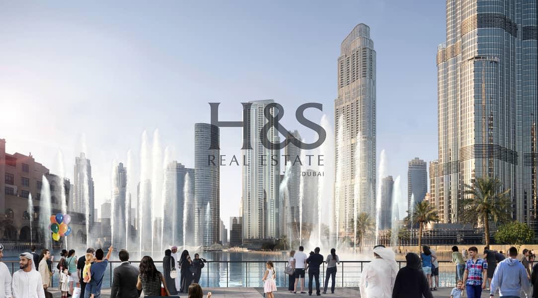 10 Stunning 2 Beds I Burj Khalifa View I  Downtown