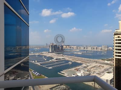 Full sea view / marina view / Palm  view unfurnished apartment for rent in Dubai Marina