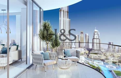 شقة 3 غرف نوم للبيع في وسط مدينة دبي، دبي - Burj Khalifa & Fountain View | Best Deal on the Market