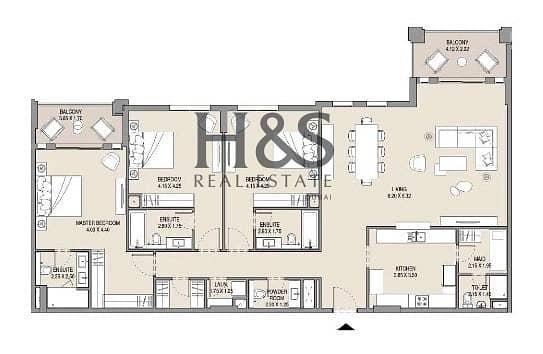 32 RESALE | Bur Al Arab View | Phase 1 High Floor