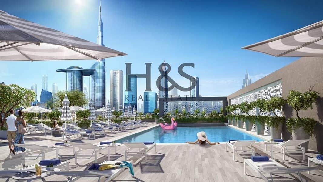 2 Luxury Hotel Apt @ Rove City Walk
