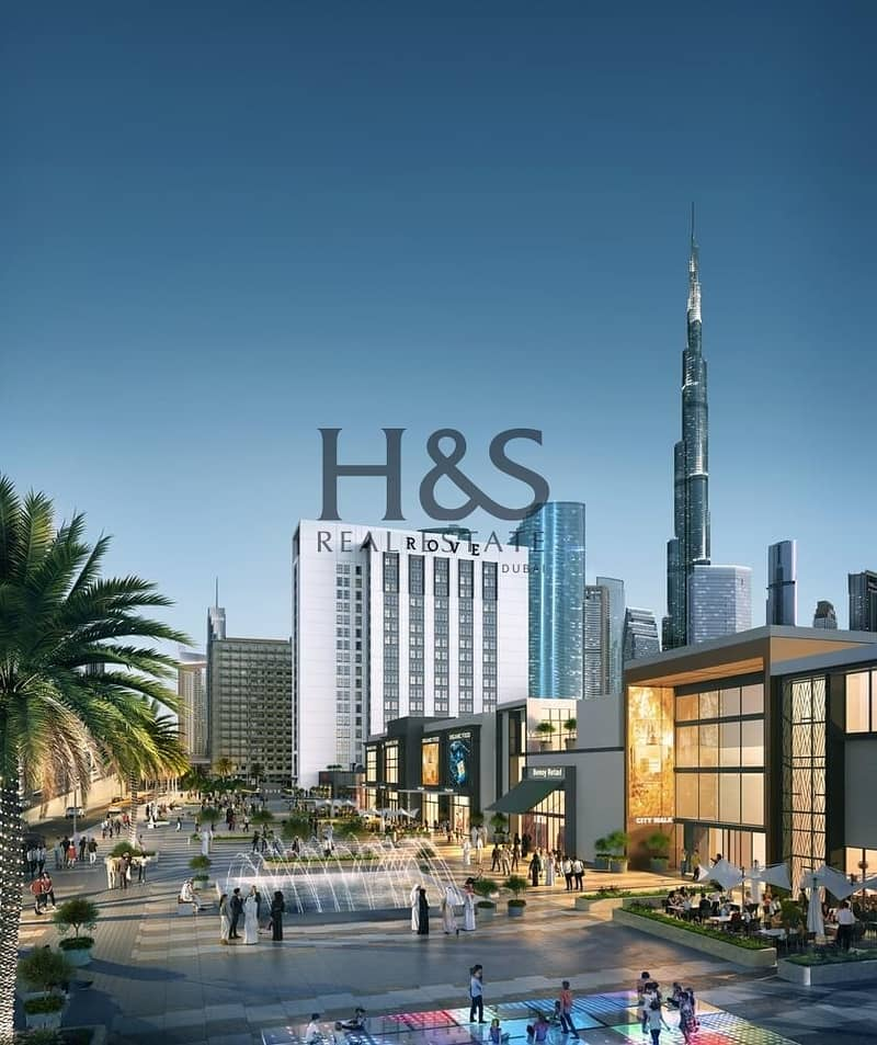 9 Serviced Apt | Burj Khalifa View | Rove City Walk
