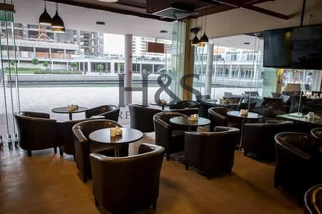 Shop for Rent in Jumeirah Lake Towers (JLT), Dubai - Proper Shisha Cafe | Low Rent | Great Location