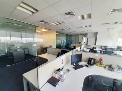 Office for Rent in Jumeirah Lake Towers (JLT), Dubai - Furnished Office with 6 Parking | Prime Bldg