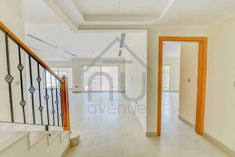 2 Facing the park | 4 bedroom + maids room | Available now