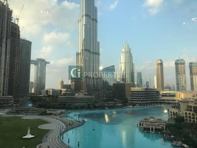 3 Bedroom Flat for Rent in Downtown Dubai, Dubai - Fountain View   Burj View   Big Layout