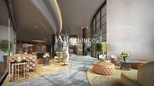 طابق سكني  للبيع في الخليج التجاري، دبي - 8% ROI | Burj Khalifa View | Two Full Floors