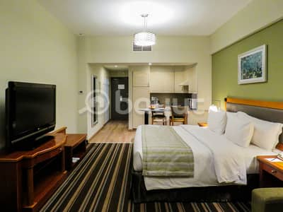 Newly Renovated Studio Apartments include DEWA & Kitchenette /DEWA Inclusive/Free Deposit & No Commission / Flexible Payment Terms
