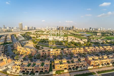 Studio for Rent in Dubai Sports City, Dubai - High Floor | Full Golf View |  Furnished