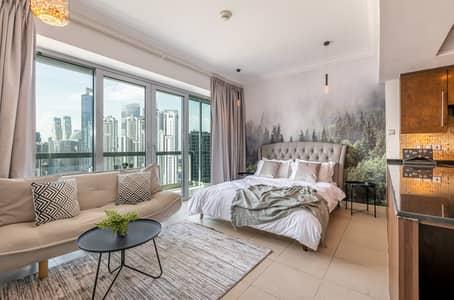 Studio for Rent in Downtown Dubai, Dubai - Fascinating cozy studio in Downtown Dubai