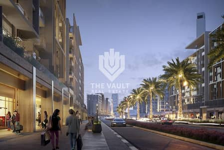 Shop for Sale in Meydan City, Dubai - Shop for Sale in Azizi Riviera | Best for F&B