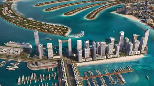 1 Bedroom Apartment for Sale in Dubai Harbour, Dubai - hot offer - enjoy sea view - 2% DLD waiver - 3 years post handover