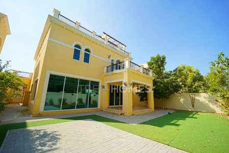 4 Bedroom Villa for Rent in Jumeirah Park, Dubai - Vacant | Quiet Location | Single Row Villa
