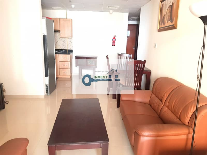 BEST PRICE | ONLY 32K IN 4 CHEQS - ONE BEDROOM | FULLY FURNISHED EXCELLENT CONDITION | CALL NOW