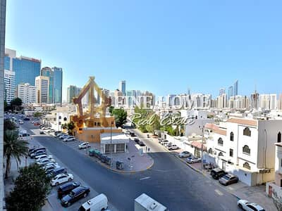 3 Bedroom Flat for Rent in Al Wahdah, Abu Dhabi - Low Rent | Commercial-zone | 3BR w/ City View