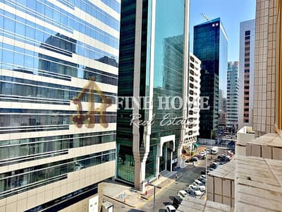 1 Bedroom Flat for Rent in Tourist Club Area (TCA), Abu Dhabi - City View | Low Price | 1MBR w/ Close Kitchen