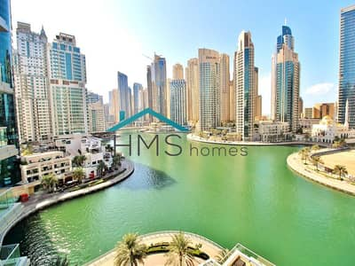 3 Bedroom Flat for Rent in Dubai Marina, Dubai - Large Furnished 3BR + Maids| Full Marina View