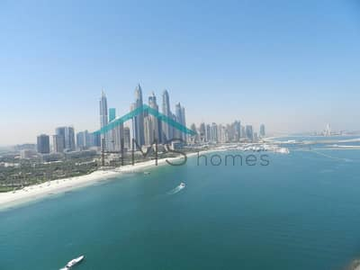 4 Bedroom Penthouse for Sale in Palm Jumeirah, Dubai - Must View | Unobstructed Marina Skyline Views