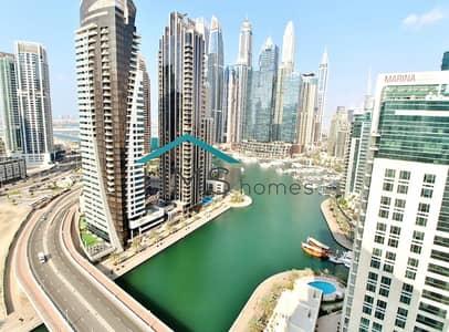 شقة 3 غرف نوم للايجار في دبي مارينا، دبي - Fully Furnished 3BR with Stunning Marina Views