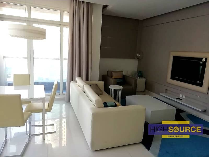 2 FULLY FURNISHED CANAL VIEW SPACIOUS 1 BED ROOM WITH BALCONY RENT IN DAMAC MASION THE VOGUE BUSINESS BAY