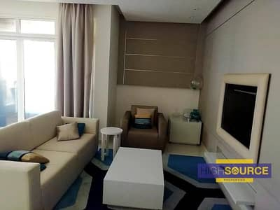 1 Bedroom Flat for Rent in Business Bay, Dubai - FULLY FURNISHED CANAL VIEW SPACIOUS 1 BED ROOM WITH BALCONY RENT IN DAMAC MASION THE VOGUE BUSINESS BAY